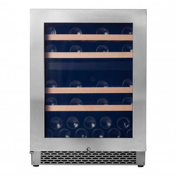 Pevino NG 39 bottles - 2 zones - Stainless steel front